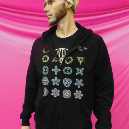 Flower Shapes Hoodie by Spin Science- Clothing and Education for Jugglers, Hoopers, and Flow Artists-4_1080-1