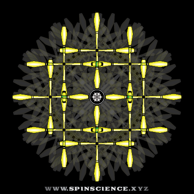 Spin Science 1 to 2 Flowers - 1 Petal Inspin and 3 Petal Antispin