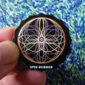 Pins-10-Flowers by Spin Science- Clothing and Education for Jugglers, Hoopers, and Flow Artists 1000-1