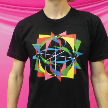 Spin Science- Clothing and Education for Jugglers, Fire Dancers, and Flow Artists- Tech Poi, Hoop, Club, Fan, and Staff- Gobstopper Pi- Shirt-1000-1