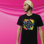 Spin Science- Clothing and Education for Jugglers, Fire Dancers, and Flow Artists- Tech Poi, Hoop, Club, Fan, and Staff- Gobstopper Pi- Shirt-1000-2