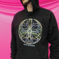 Spin Science- Clothing and Education for Jugglers and Flow Artists- Tech Poi, Hoop, Club, Fan, Staff -Pullover- 10 Flowers_1000-5