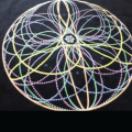 Spin Science- Clothing and Education for Jugglers and Flow Artists- Tech Poi, Hoop, Club, Fan, and Staff- Flower Mandala Shirt