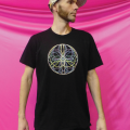 Spin Science- Clothing and Education for Jugglers and Flow Artists- Tech Poi, Hoop, Club, Fan, and Staff- Flower Mandala Shirt -1000-4